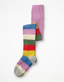 Rainbow Multi Stripe Patterned Tights