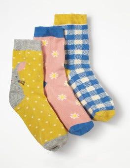 Häschen Socken im 3er-Pack