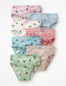 Strawberry Spot 7 Pack Underwear