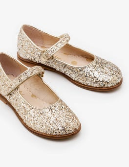Silver/Gold Glitter Party Mary Janes