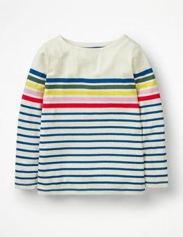 Multi Rainbow Breton T-shirt