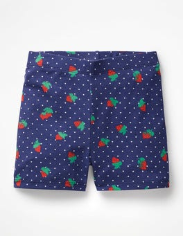 Starboard Blue Strawberry Spot Jersey Shorts