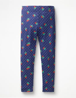 Starboard Blue Strawberry Spot Fun Leggings