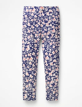 Starboard Blue Animal Print Fun Leggings