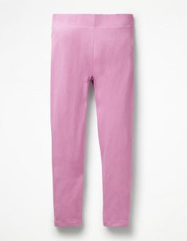 Lilac Pink Plain Leggings