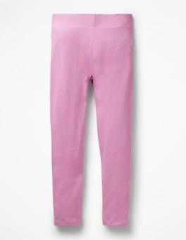 Lilac Pink Plain Leggings