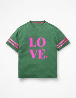 Rosemary Green Love Love T-shirt