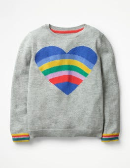 Fun Heart Sweater