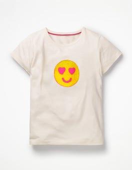 Bouclé Appliqué T-shirt