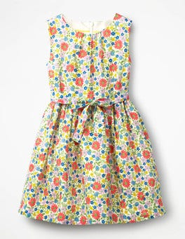 Multi Jolly Floral Vintage Dress