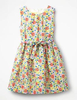 Multi Jolly Floral Vintage Dress