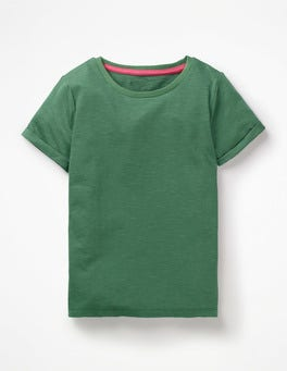 Rosemary Green Slub T-Shirt