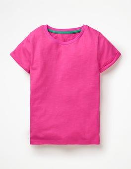 Festival Pink Slub T-Shirt