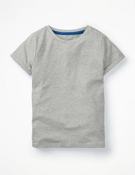 Grey Marl Slub T-Shirt