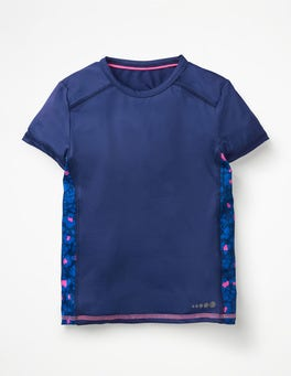 Starboard Blue Active T-shirt