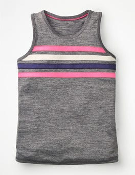 Grey Marl Active Vest