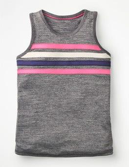 Grey Marl Active Vest