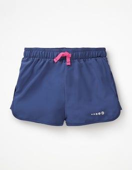 Starboard Blue Running Shorts