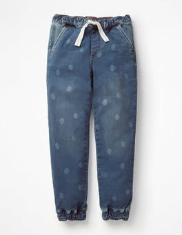 Dark Vintage/Spots Pull-on Trousers