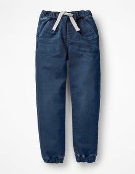 Mid Vintage/Rainbow Pockets Pull-on Trousers