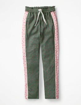 Khaki Green Sweet Hearts Hotchpotch Trousers