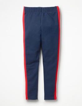 College Blue Sporty Leggings