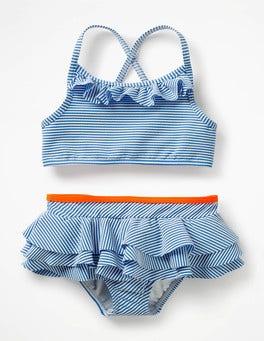 Ivory/Skipper Blue Pretty Bikini Set