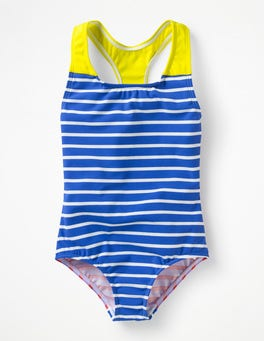 Hotchpotch Stripe Racer-back Swimsuit