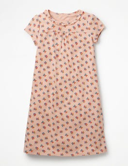 Parisian Pink Vintage Posy Printed Nightgown