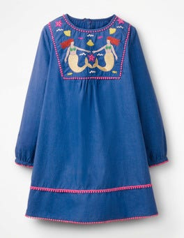 Duke Blue Colourful Kaftan
