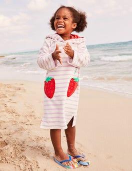 Fröhliches Frottee-Strandkleid
