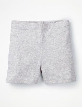 Grey Marl Plain Jersey Shorts