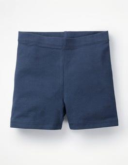 Navy Plain Jersey Shorts