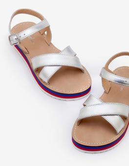 Stripy Sandals