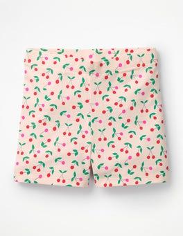 Parisian Pink Cherries Jersey Shorts