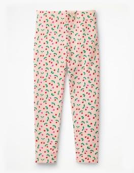 Parisian Pink Cherries Fun Leggings