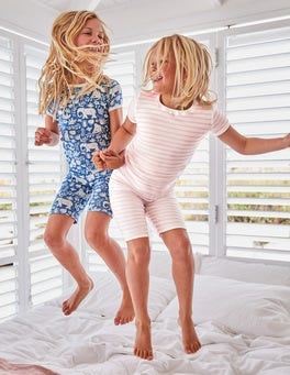 Twin Pack Short John Pyjamas