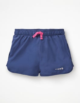 Starboard Blue Running Shorts