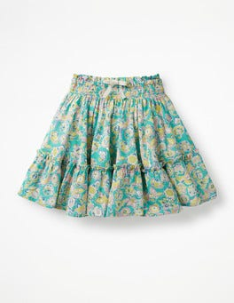 Sea Breeze Tropical Paisley Twirly Skirt