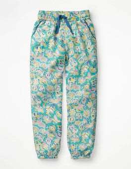 Sea Breeze Tropical Paisley Relaxed Woven Trousers