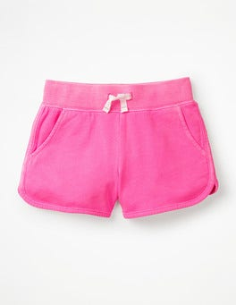 Festival Pink Garment-dyed Jersey Shorts