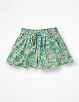 Sea Breeze Tropical Paisley Printed Culottes