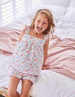 Woven Detail Pyjama Set