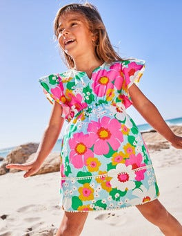 Tropical Flowers Kaftan