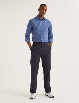Navy Original Straight Leg Chinos