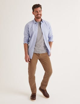 Cord-Jeans mit schmalem Bein