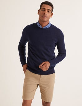 Pull col rond en cachemire