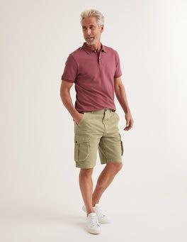 Malzbraun Cargo-Shorts