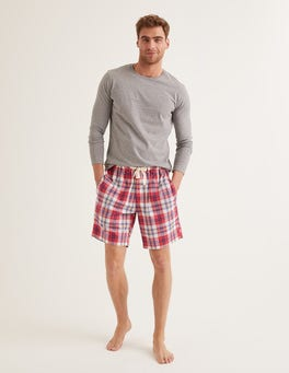 Cotton Poplin Pyjama Shorts