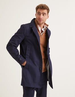 Navy Holborn Mac